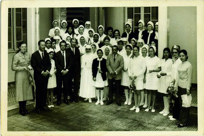 Foto antiga: Hospital Cesar Pernetta