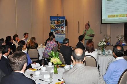 O diretor-corporativo do Complexo Pequeno Príncipe, José Álvaro da Silva Carneiro, destacou a importância de se investir na causa da saúde.