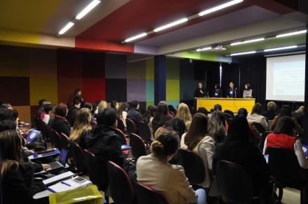 A abertura do ENEPE contou com as participações de representantes do Complexo Pequeno Príncipe, FPP e Fundação Araucária.