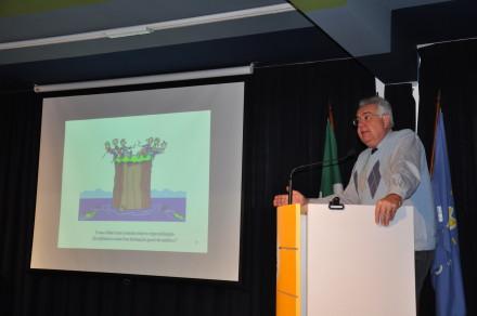 Campos proferiu palestra no ENEPE sobre Pesquisa em Saúde Coletiva.