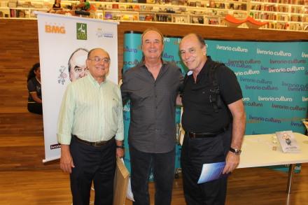 Hélio Marchi, Levir Culpi e José Álvaro Carneiro