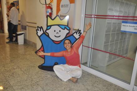 Carmen Monarcha fará apresentações em prol do HPP.