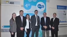 Equipe da EMS é recebida pelo diretor corporativo do Pequeno Príncipe, José Álvaro Carneiro