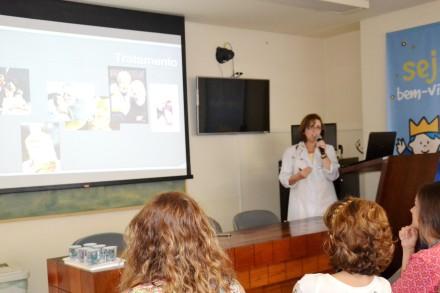 O ciclo de palestras reuniu profissionais das mais diferentes áreas.