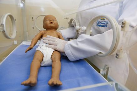 Há vaga para Área de Atuação em Pediatria: Pneumologia.