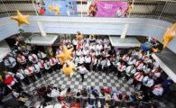 Concerto inesquecível encanta pacientes e familiares do Pequeno Príncipe