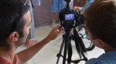 Oficina de cinema proporciona momentos de diversão e aprendizado para os pacientes do Hospital Pequeno Príncipe