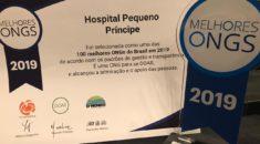 Hospital Pequeno Príncipe é eleito como uma das 100 Melhores ONGs do Brasil