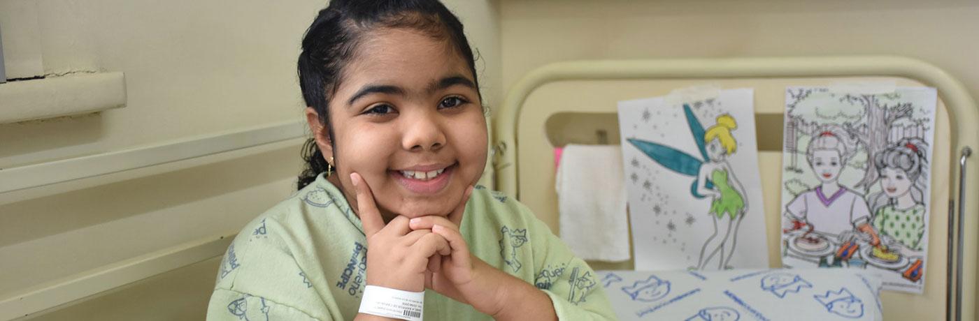 Paciente Isabela Barros de Carvalho